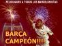 Celebracion Barça Campeon